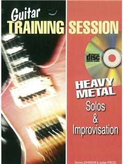 Guitar Training Session: Heavy Metal Solos & Improvisation (Book/CD) Books and CDs | Guitar