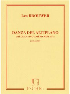Leo Brouwer: Danza Del Altiplano Books | Guitar
