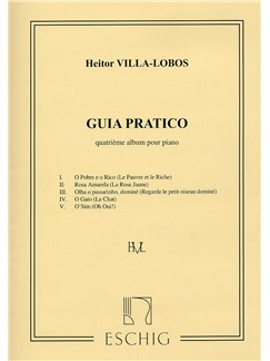 Heitor Villa-Lobos: Guia Pratico Album No.4 (Piano) Books | Piano