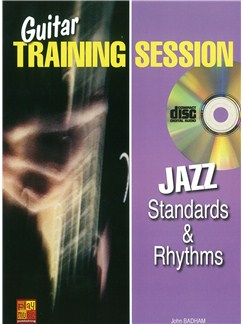 Guitar Training Session: Jazz Standards & Rhythms (Book/CD) Books and CDs | Guitar
