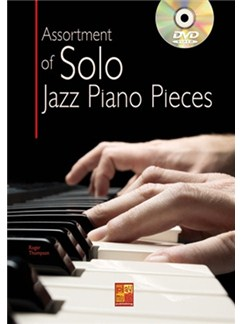 Assortment Of Solo Jazz Piano Pieces (Book/DVD) Books and DVDs / Videos | Piano