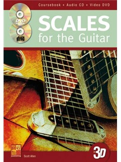 Scott Allen: Scales For The Guitar (Book/CD/DVD) Books, CDs and DVDs / Videos | Guitar