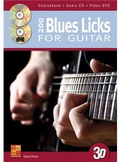 200 Blues Licks For Guitar (Book/CD/DVD) Books, CDs and DVDs / Videos | Guitar