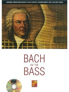 Bach On The Bass (Book/CD) Books and CDs | Bass Guitar