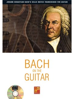 Bach On The Guitar (Book/CD) Books and CDs | Guitar
