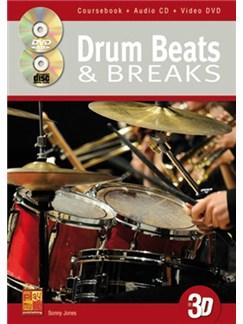 Sonny Jones: Drum Beats & Breaks (Book/CD/DVD) Books, CDs and DVDs / Videos | Drums