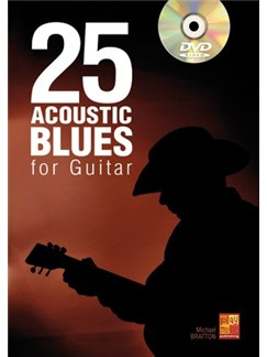 25 Acoustic Blues For Guitar (Book/DVD) Books and DVDs / Videos | Guitar