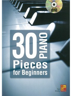 Paul Murphy: 30 Piano Pieces For Beginners (Book/CD) Books and CDs | Piano