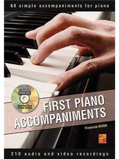 Frederick Dixon: First Piano Accompaniments (Book/DVD) Books and DVDs / Videos | Piano