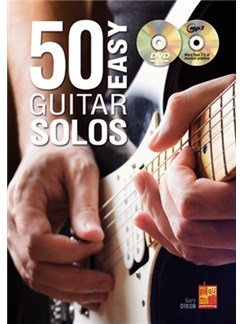 50 Easy Guitar Solos (Book/CD/DVD) CD, DVDs / Videos et Livre | Guitare