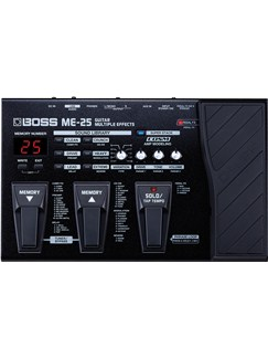 Boss: ME-25 Multi-Effects Unit  | Electric Guitar