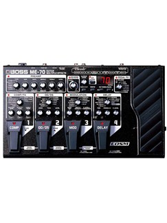 Boss: ME-70 Guitar Multiple Effects  | Electric Guitar