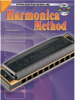 Progressive Harmonica Method Books and CDs | Harmonica