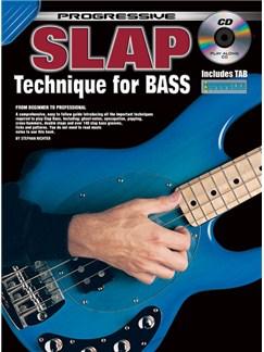 Progressive Slap Technique For Bass Books and CDs | Bass Guitar
