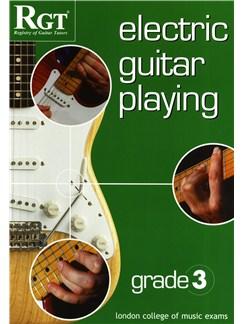 RGT: Electric Guitar Playing - Grade 3 Books | Guitar, Electric Guitar