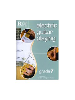 Registry Of Guitar Tutors: Electric Guitar Playing - Grade Seven Books | Electric Guitar