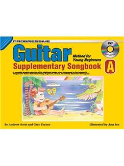 Progressive Guitar Method For Young Beginners: Supplementary Songbook A Books and CDs | Guitar