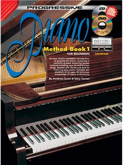 Progressive Piano Method: Book 1 Books and CDs | Piano