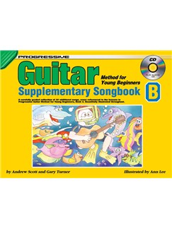 Progressive Guitar Method For Young Beginners: Supplementary Songbook B Books and CDs | Guitar