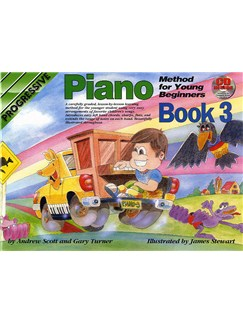 Progressive Piano Method For Young Beginners: Book 3 Books and CDs | Piano