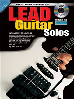 Progressive Lead Guitar Solos Books and CDs | Guitar