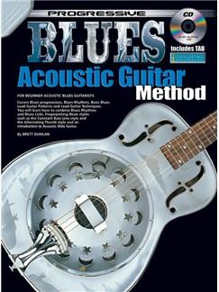 Progressive Blues Acoustic Guitar Method Books and CDs | Guitar, Acoustic Guitar