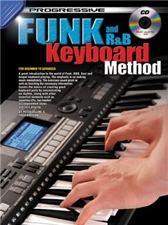 Progressive Funk And R&B Keyboard Method Books and CDs | Keyboard