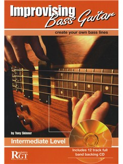 Improvising Bass Guitar: Intermediate Level (Book/CD) Books and CDs | Bass Guitar
