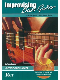 Improvising Bass Guitar: Advanced Level (Book/CD) Books and CDs | Bass Guitar