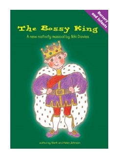 Niki Davies: The Bossy King (Book/CD) Books and CDs | Piano & Vocal