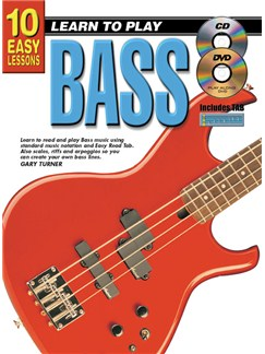 10 Easy Lessons: Learn To Play Bass Books, CDs and DVDs / Videos | Bass Guitar