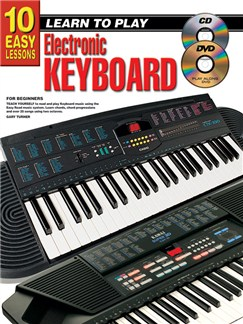 10 Easy Lessons: Learn To Play Electronic Keyboard Books, CDs and DVDs / Videos | Keyboard