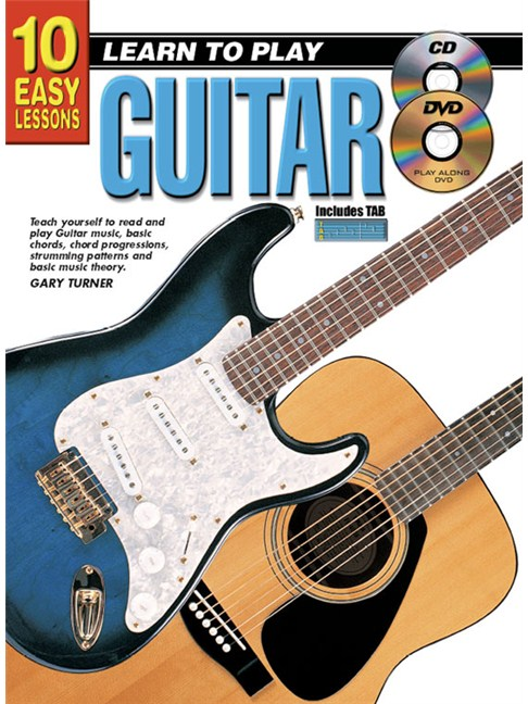 10 Easy Lessons: Learn To Play Guitar - Guitar Books - Tuition ...