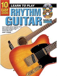 10 Easy Lessons: Learn To Play Rhythm Guitar Books, CDs and DVDs / Videos | Guitar