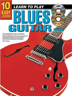 10 Easy Lessons: Learn To Play Blues Guitar Books, CDs and DVDs / Videos | Guitar