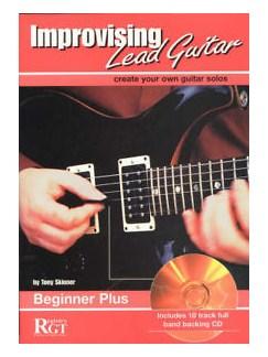 Tony Skinner: Improvising Lead Guitar Beginner Plus Books and CDs | Guitar