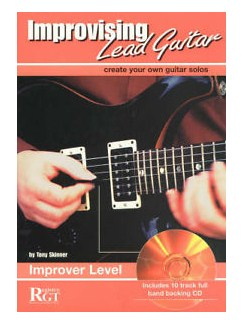 Tony Skinner: Improvising Lead Guitar - Improver Level Books and CDs | Guitar