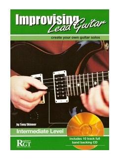 Tony Skinner: Improvising Lead Guitar - Intermediate Level Books and CDs | Guitar