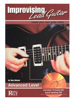 Tony Skinner: Improvising Lead Guitar - Advanced Books and CDs | Guitar Tab