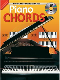 Progressive Piano Chords Books and CDs | Piano