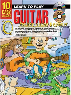 10 Easy Lessons: Learn To Play Guitar For Young Beginners Books, CDs and DVDs / Videos | Guitar