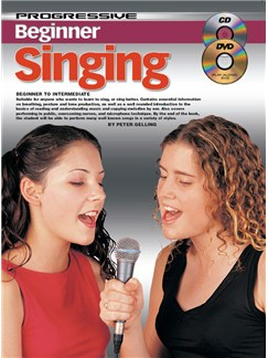 Progressive Beginner Singing Books | Voice