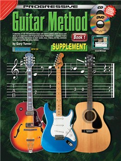 Progressive Guitar Method: Book 1 Supplementary Songbook Books, CDs and DVDs / Videos | Guitar