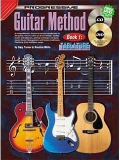 Progressive Guitar Method: Book 1 with TAB Books, CDs and DVDs / Videos | Guitar
