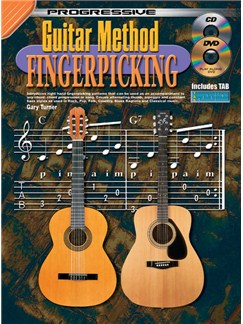Progressive Guitar Method: Fingerpicking Books and CDs | Guitar