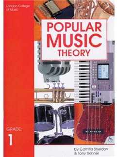 LCM Popular Music Theory Grade 1 Books | All Instruments