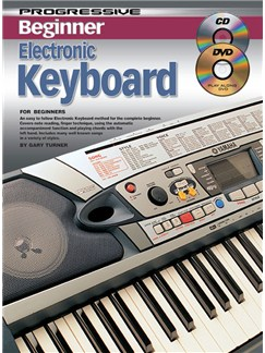 Progressive Beginner Electronic Keyboard Books, CDs and DVDs / Videos | Keyboard