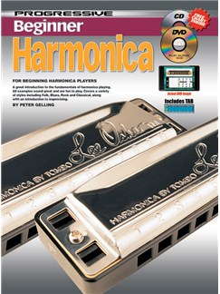 Progressive Beginner Harmonica Books, CDs and DVDs / Videos | Harmonica