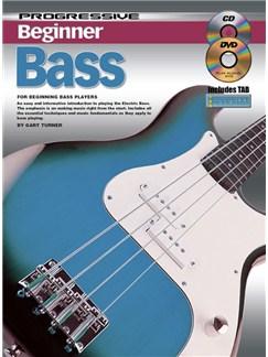 Progressive Beginner Bass Books, CDs and DVDs / Videos | Bass Guitar