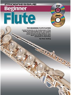 Progressive Beginner Flute Books, CDs and DVDs / Videos | Flute